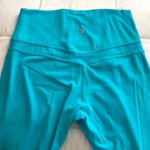 Align Lululemon leggings. Size 6